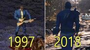 Evolution of Fallout Games 1997-2018