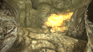 FNV TStG cave gas trap explosion boundary