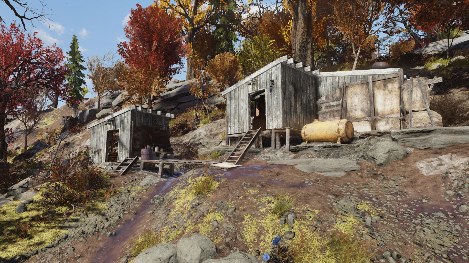 Moonshiner's shack
