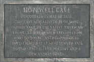 FO76 Sign hopewellcave plaque