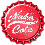 Fallout Wasteland Warfare Nuka-Cola cap