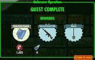 FoS Undercover Operations - rewards