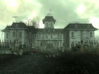 Calvert Mansion ground