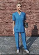 FO76 Medical Scrubs Female