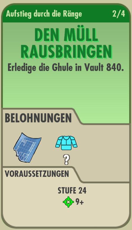 Den Müll rausbringen (Fallout Shelter)