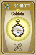 FOS Karte - Golduhr