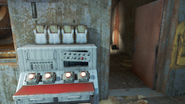 FO4 Vitale Pumphouse open door