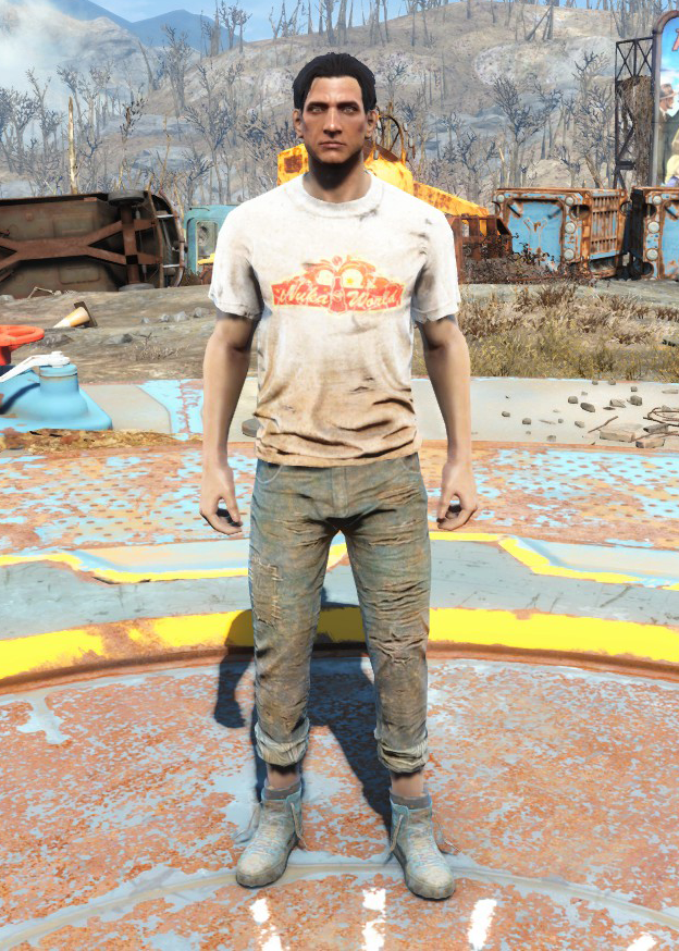 Nuka-World geyser shirt & jeans
