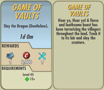 FoS Game of Vaults card