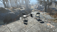 FO4 Parsons creamery chairs
