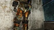 FO76SD Cave diving suit clipping