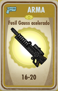 FOS Fusil Gauss acelerado carta