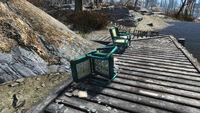 Fishing tournament ad LQ chair