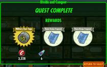 FoS Divide and Conquer rewards