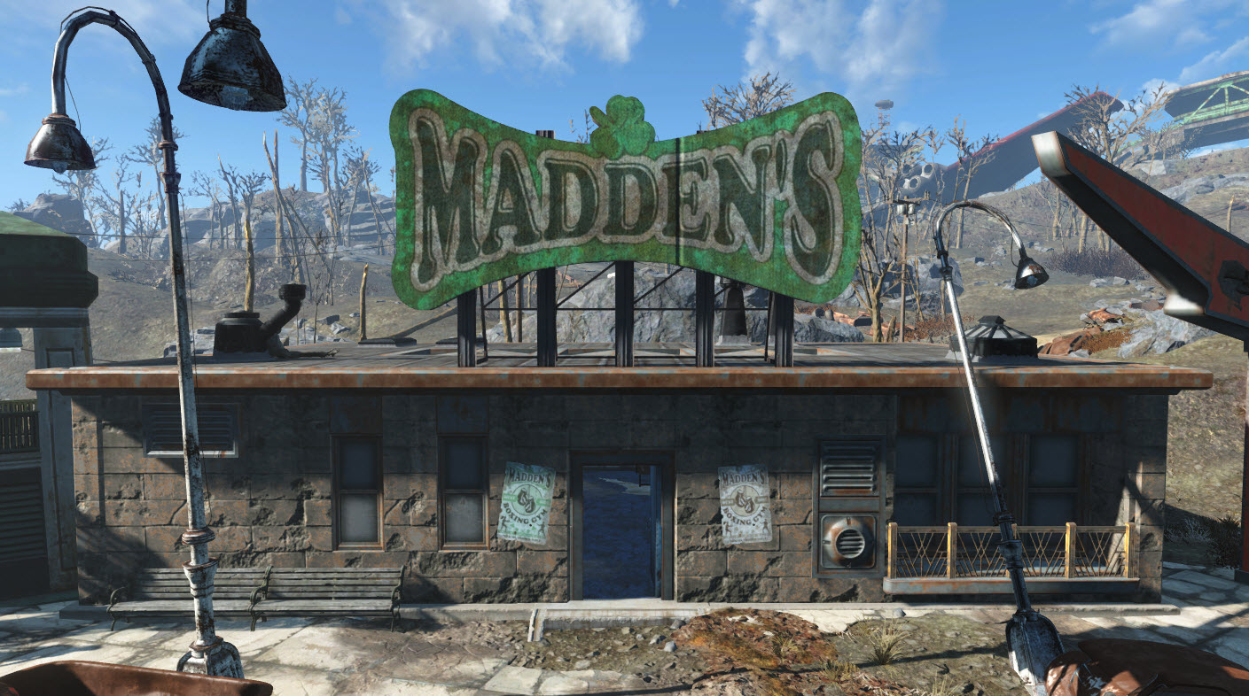 Madden's gym