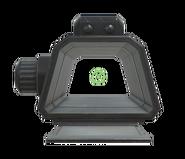 FO76WL Gauss pistol reflex sight aim
