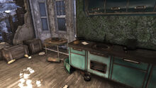 FO76 Grafton (kitchen of Otis Pike's house)