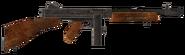 .45 Auto submachine gun with both modifications