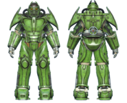 FO4CC X-02 power armor green