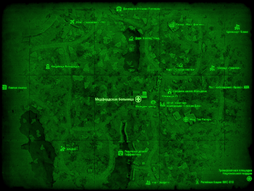 FO4 Медфордская больница (карта мира).png