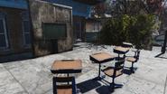 FO76 191020 Morgantown rooftop classroom