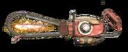 FO76 Chainsaw longbar flamer