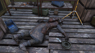 Foward Station Alpha Brotherhood Corpse
