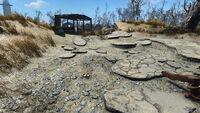 Nuke mine northeast of Crater house