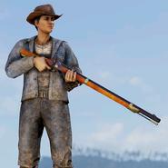 Atx skin weaponskin blackpowder rifle pioneer c4