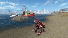 FO4 Spectacle Island (Mirelurk king)