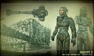 Art of Fallout 3 BoS items CA1.jpg