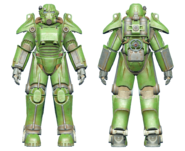 FO4CC T-45 power armor green