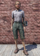 FO76 Ranger Outfit Clean