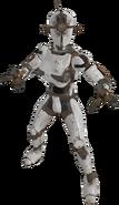 FO76 creature assaultron white