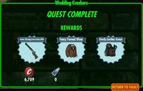FoS Wedding Crashers rewards