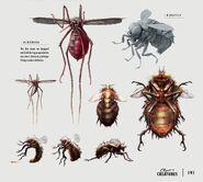 Art of Fallout 4 bloodbug bloatfly