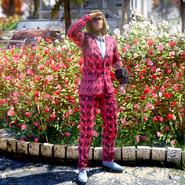 Atx apparel outfit pantsuit tropical c3