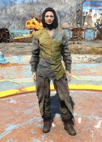 Child of Atom green rags female