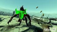 Fallout 4 VR VATS pre-release screen