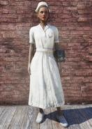 FO76 Asylum Worker Uniform White