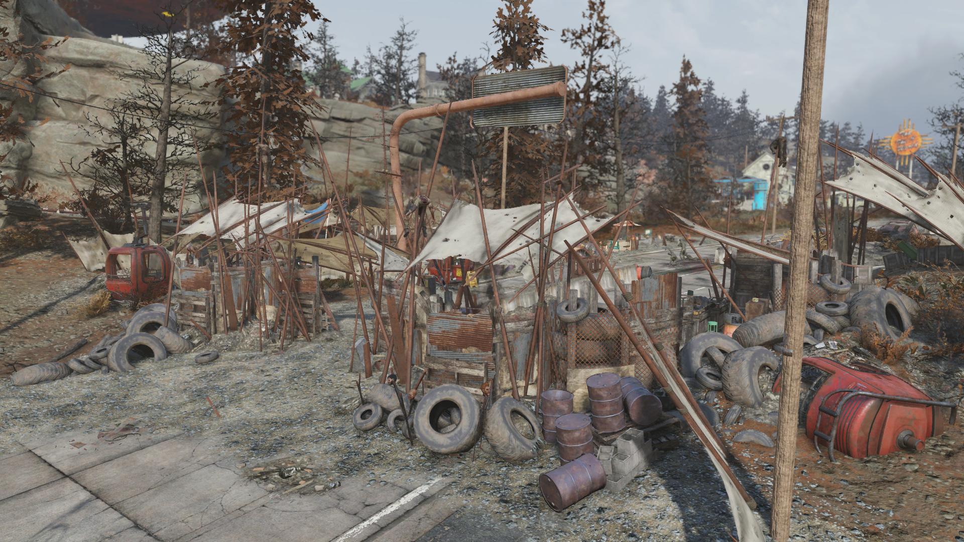 South Cutthroat camp