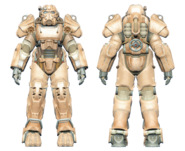 FO4CC T-60 power armor tan