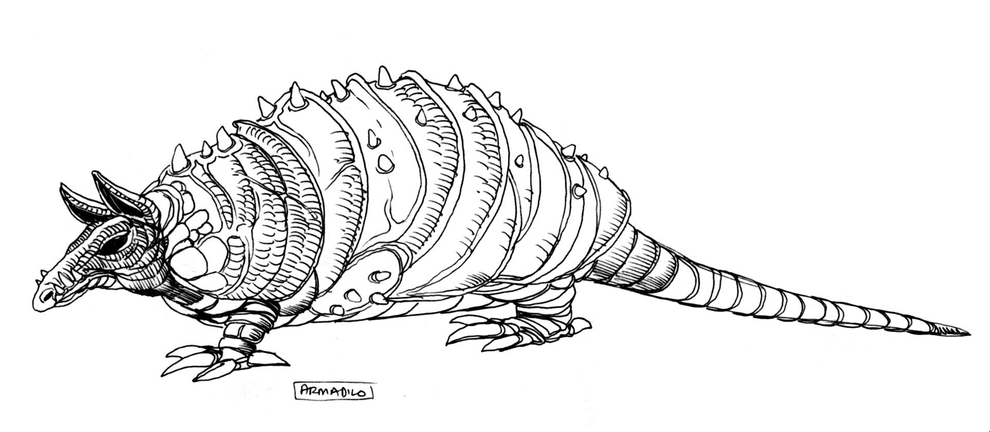 Броненосец (существо)