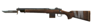 FO4 Bayoneted hunting rifle