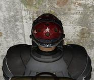 FO76SD Season 3 American Tank Helmet (rear)