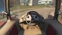 Zip car interior