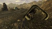 FNV Canyon wreckage 6