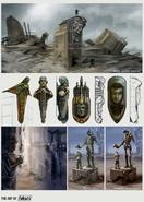 FO4 Art book statues 2