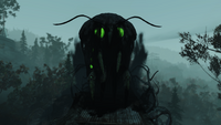 FO76WL glowing mothman Moth-Home