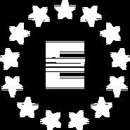 Enclave symbol white